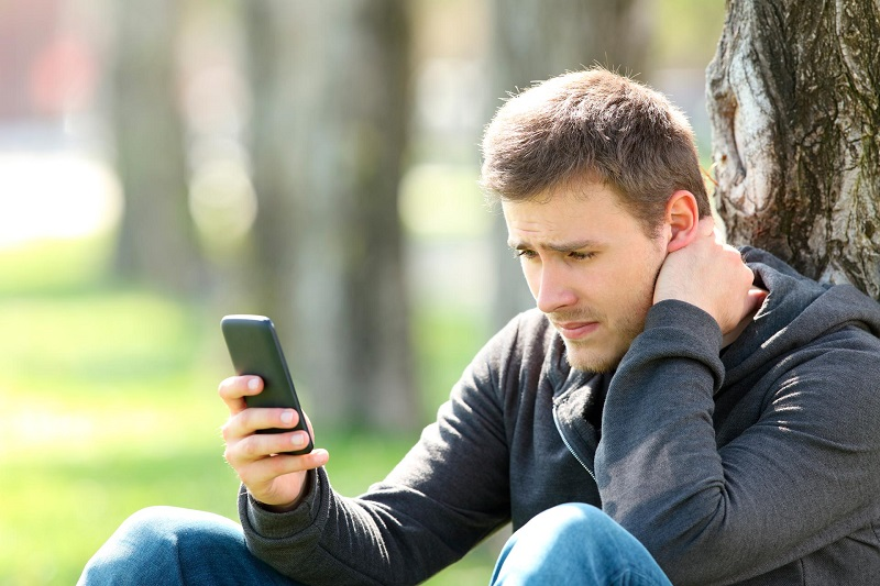 dolor de cuello texting neck mala postura