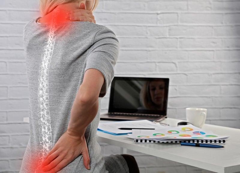 mala postura dolor de cuello dolor de espalda